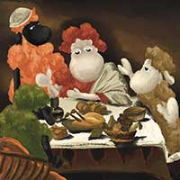 Baad Supper at Emmaus